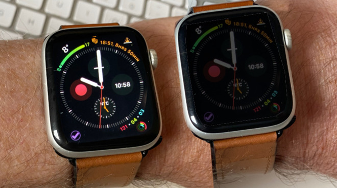 Apple Watch can misread the ambient light and make a screen too dim