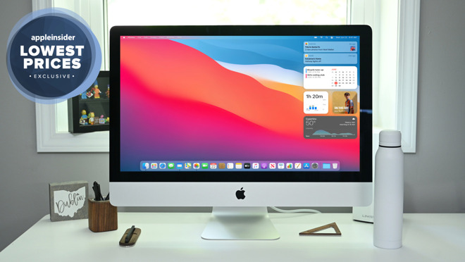 iMac 27 inch with exclusive deals badge
