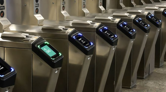 Transit terminal gates could be an ideal place to use the patent.