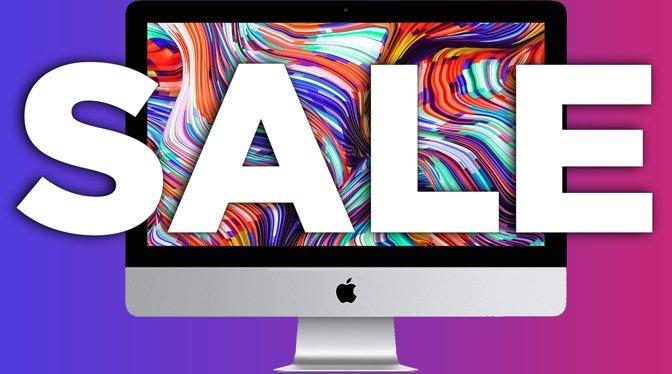 Apple iMac sale on 4K model at Amazon