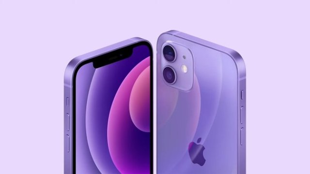 The purple iPhone 12 arrives on April 30, with pre-orders starting Friday