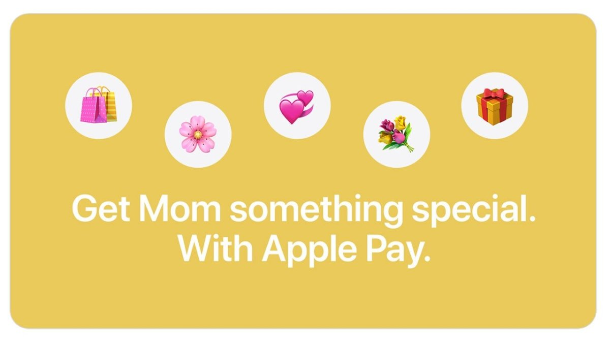 Apple Pay Mother's Day Promo