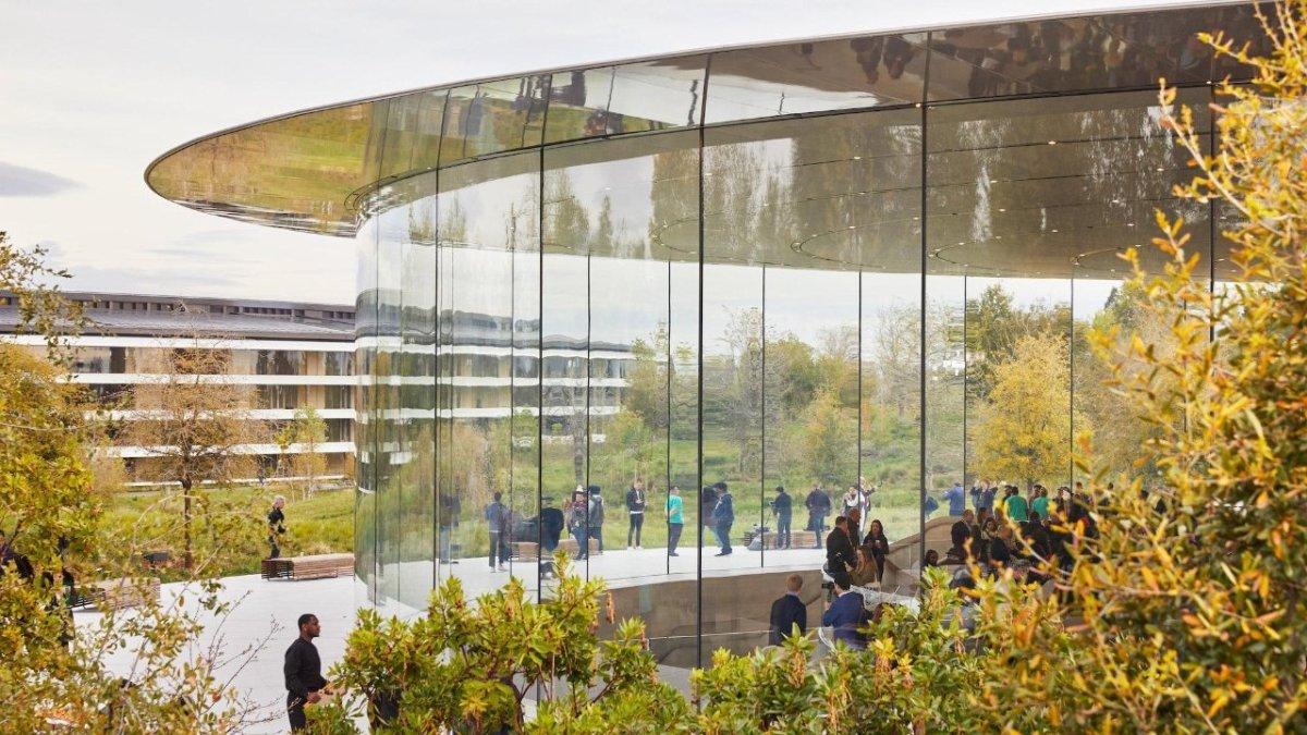 The Steve Jobs Theater