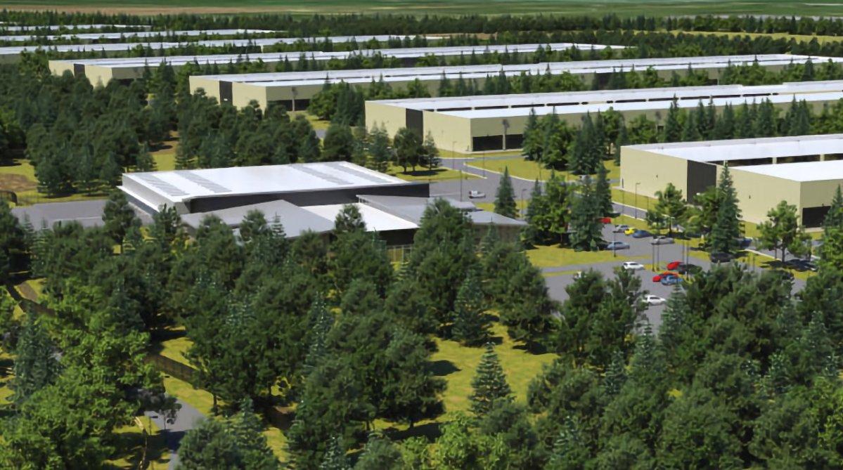 Proposed Apple datacenter