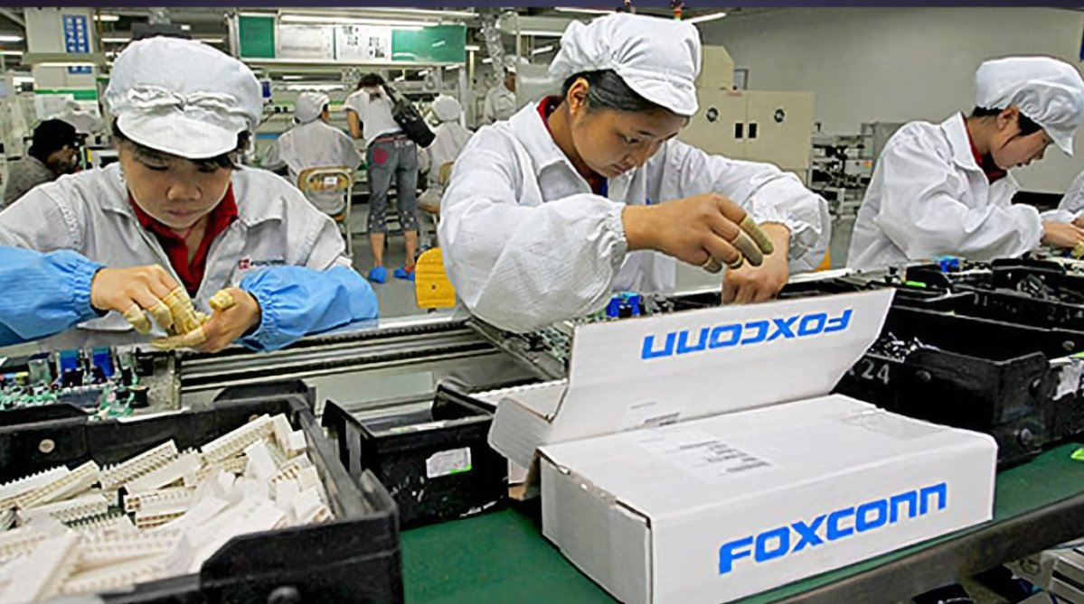 Many Foxconn workers have been told to take time off