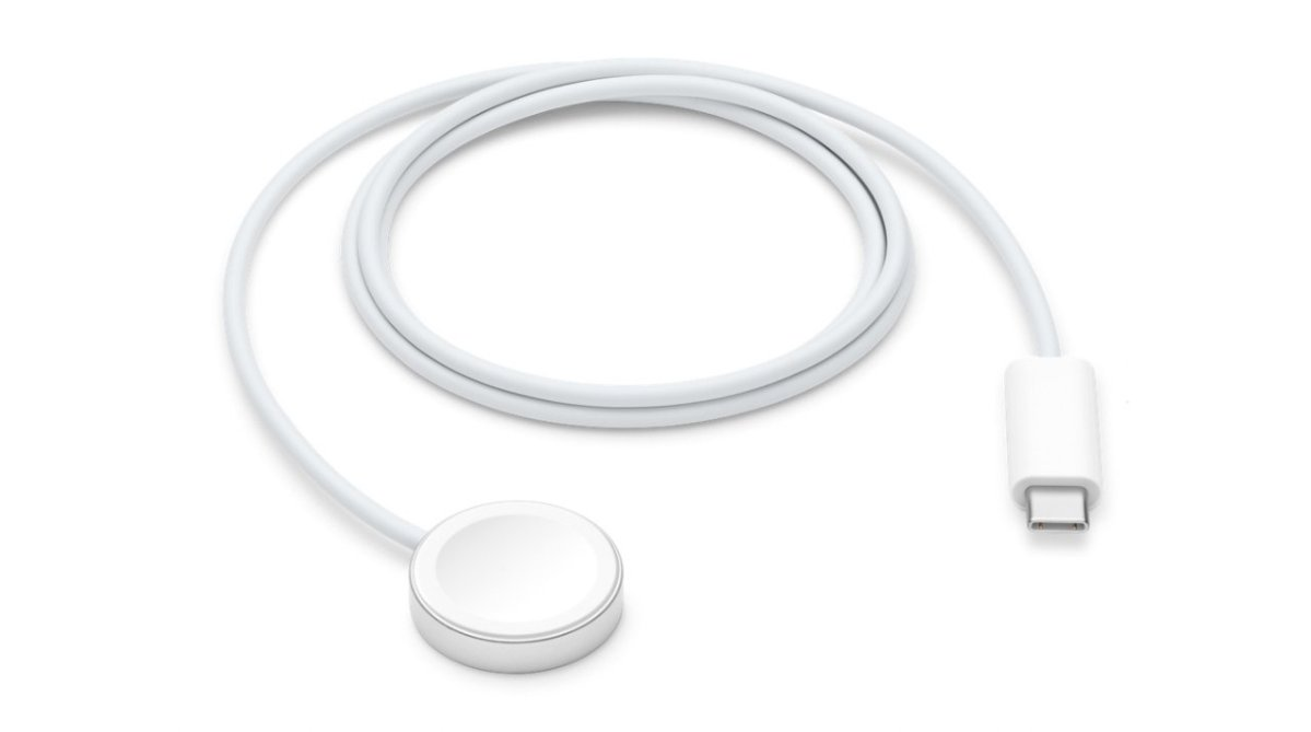 The new Apple Watch Magnetic Fast Charger to USB-C cable is now on sale