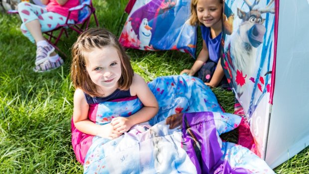 Disney Frozen 2 No-Floor Dome Tent for only $10