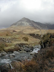 Cuillin and river