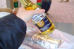 my burrito enhanced by beverage