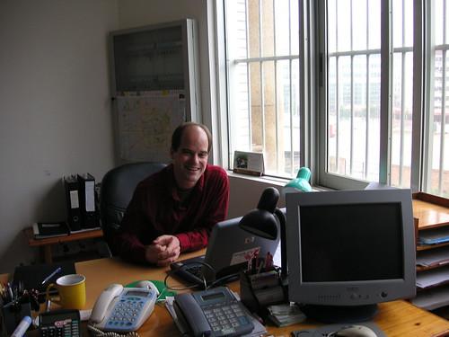 Paul at His Desk