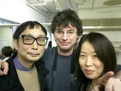 Kenzo Saeki ,Patrice Leroy & madame NHK