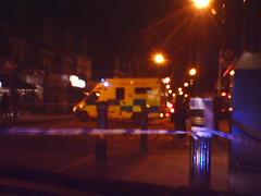Newham at night