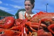 fca crawfish boil - lauren