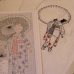 WIP cross stitch