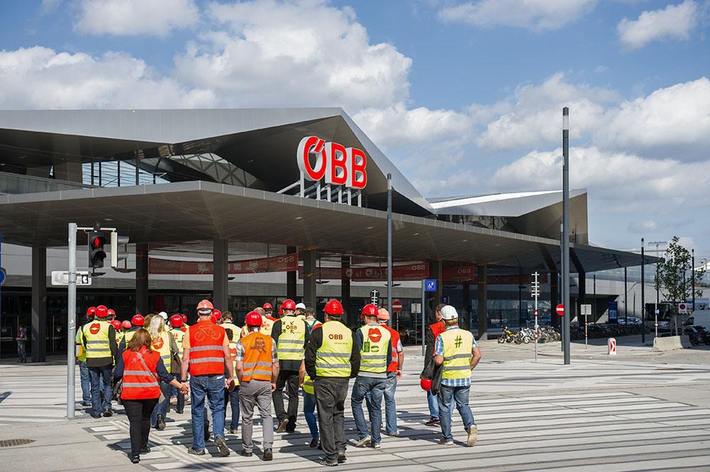 hauptbahnhof, main railway station, vienna, austria, oebb, 1040,