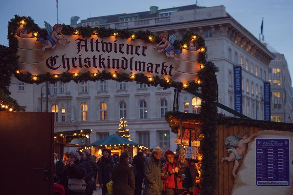 Freyung, Vienna, X-Mas, Advent, Altwiener Christkindlmarkt