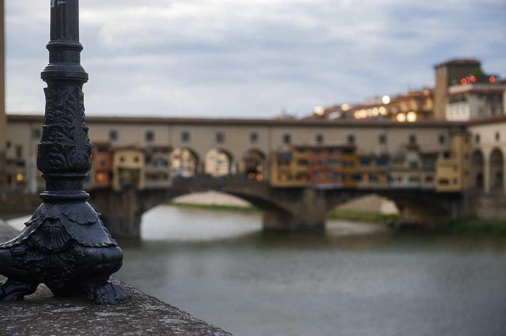 tuscany, arno, river, florence, bridges, autumn, ponte vecchio