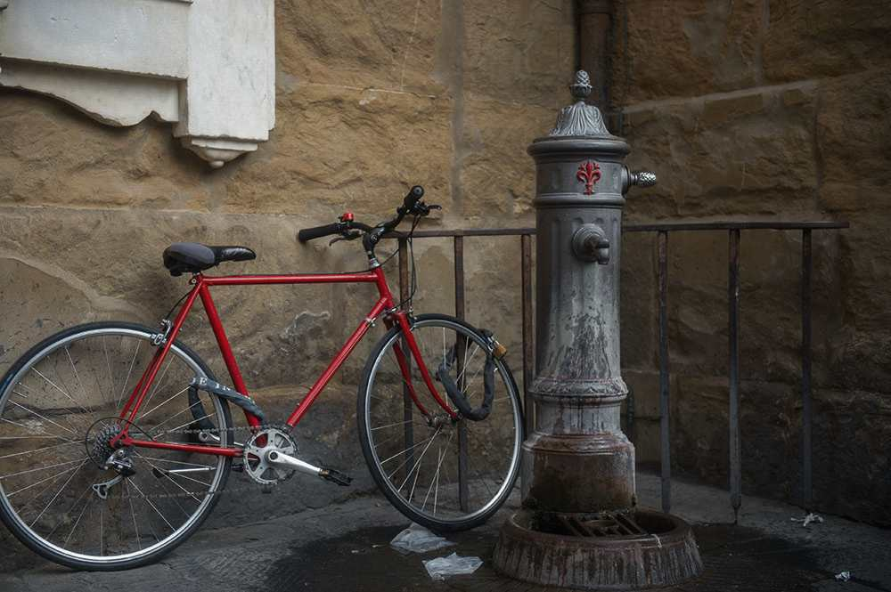 italy, florence, medici, walking around, renaissance, travelm diary, autumn, bikes