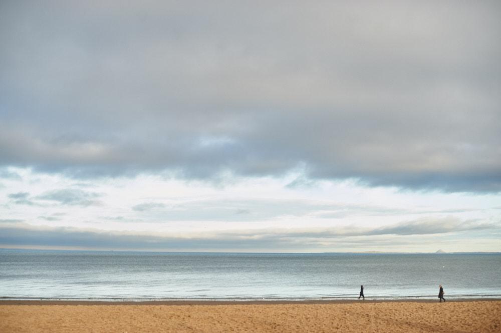 portobello beach, edinburgh, scotland, uk, beach
