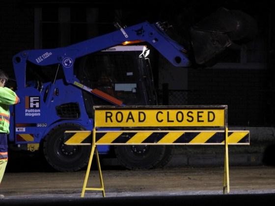 Road closed 3015 JD 2016_1