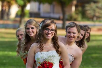 The Bridesmaid Peek