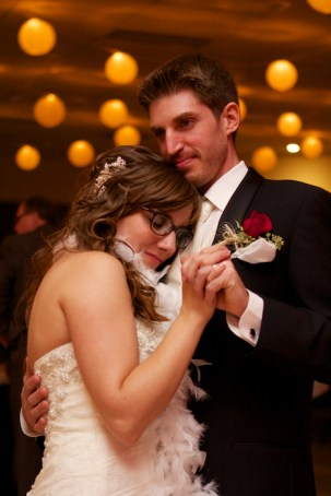 Bride and Groom Moment