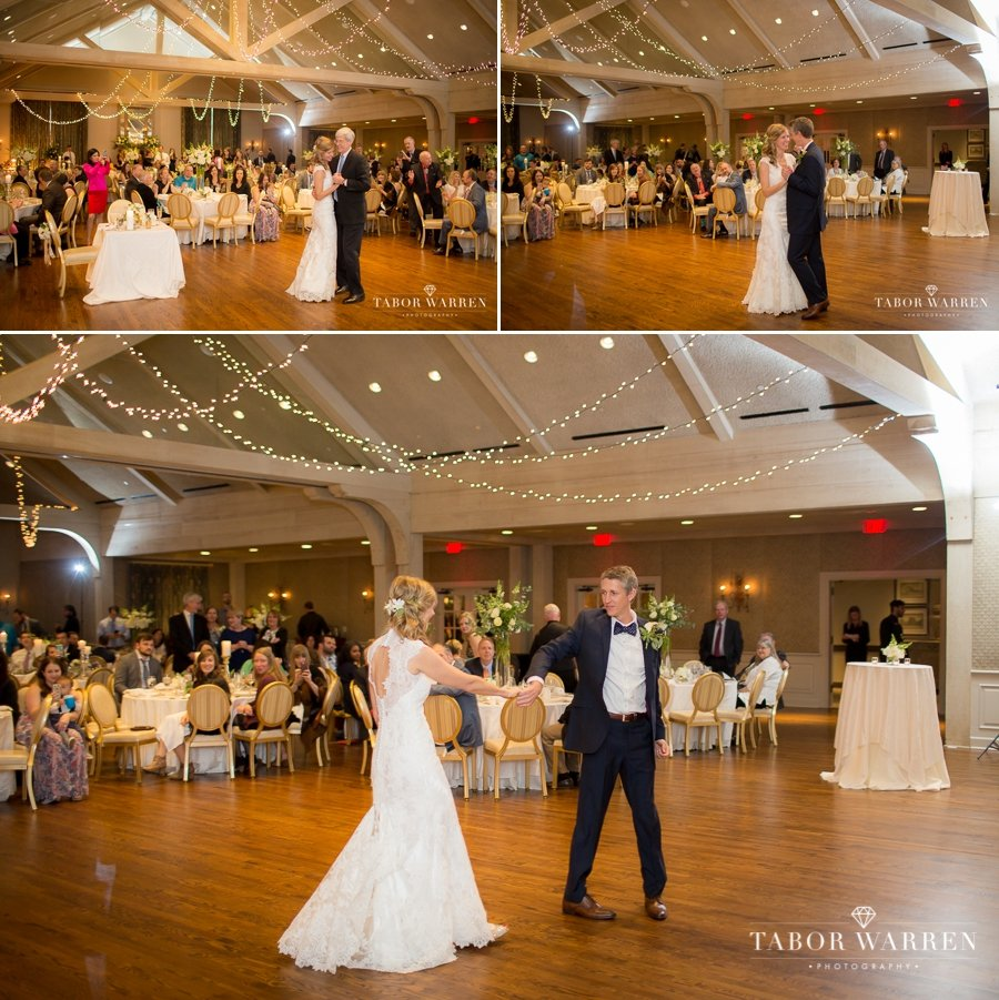 Southern Hills Country Club wedding first dance
