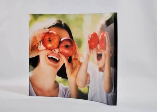 Curved Acrylic Photo Frame