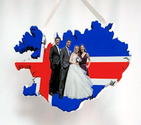 Photo Sculpture Cutout Ornament