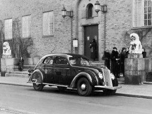 Volvo PV 36 en Suède en 1935