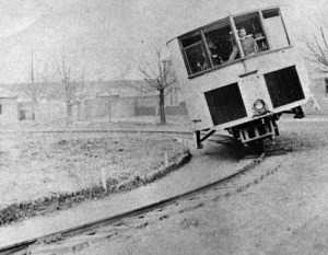 Monorail gyroscopique – 1909