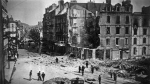 Bombardement au Havre en 1941