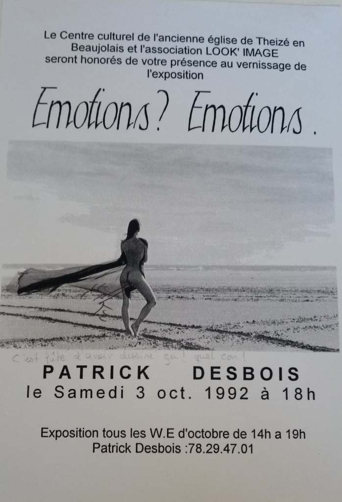 Photo sensuelle Desbois