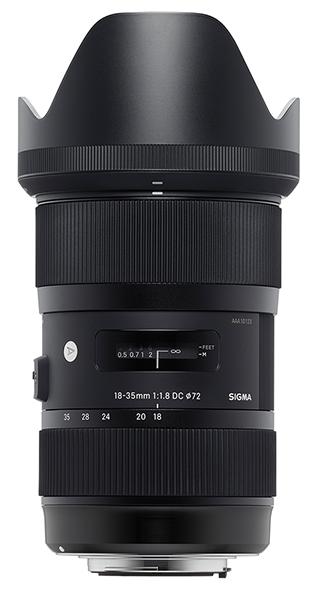 Sigma 18-35mm,primul obiectiv cu diafragma constanta f1.8