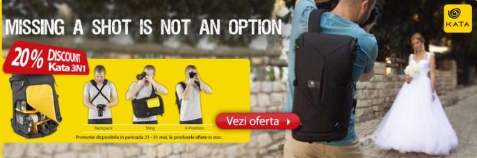 Promotia Kata 3n1 20% discount