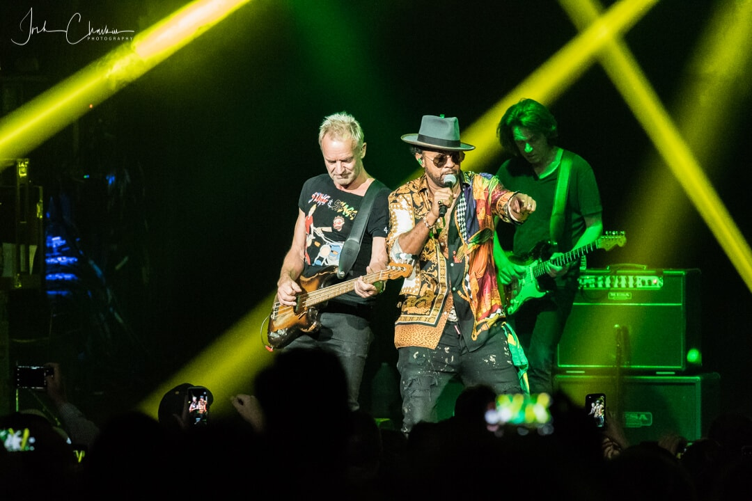 Sting and Shaggy in Kansas City - Photos from the Pit