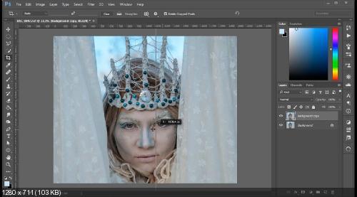 Обработка зимних фото в Фотошоп (2018) - Самоучители и ...