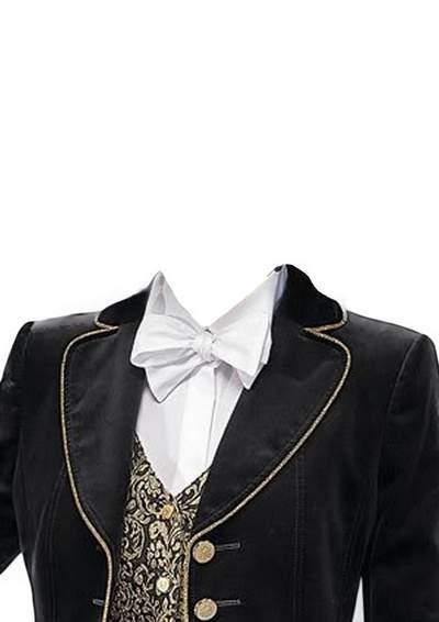Женские костюмы PSD для фото на документы на прозрачном ...