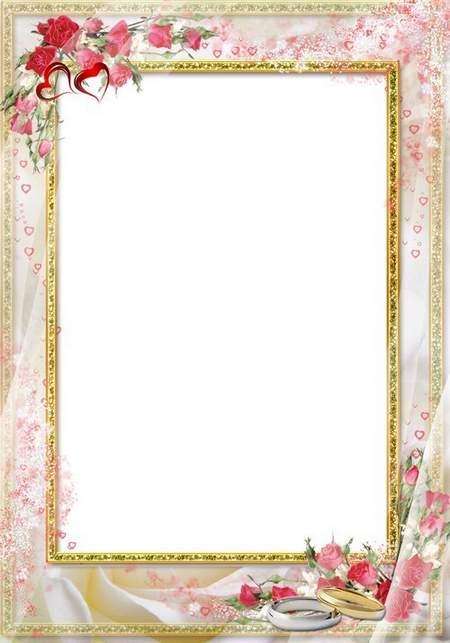 Wedding Frame Png 5