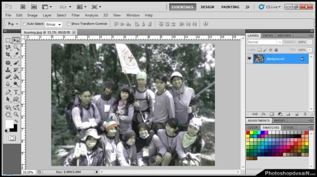 interfacePhotoshopcs5