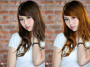 Mengganti Warna Rambut Menggunakan Adobe Photoshop