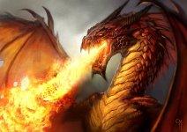 fire flames conceptual illustration