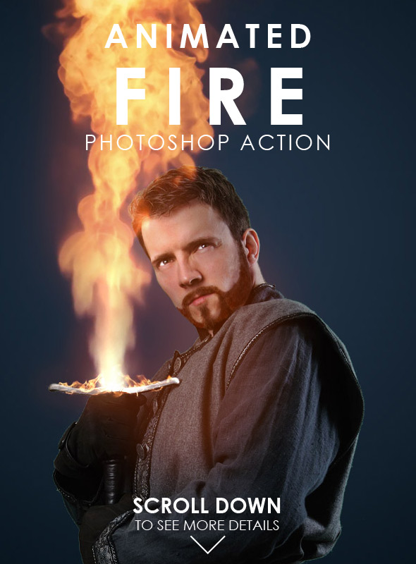 animated-fire-photoshop-action