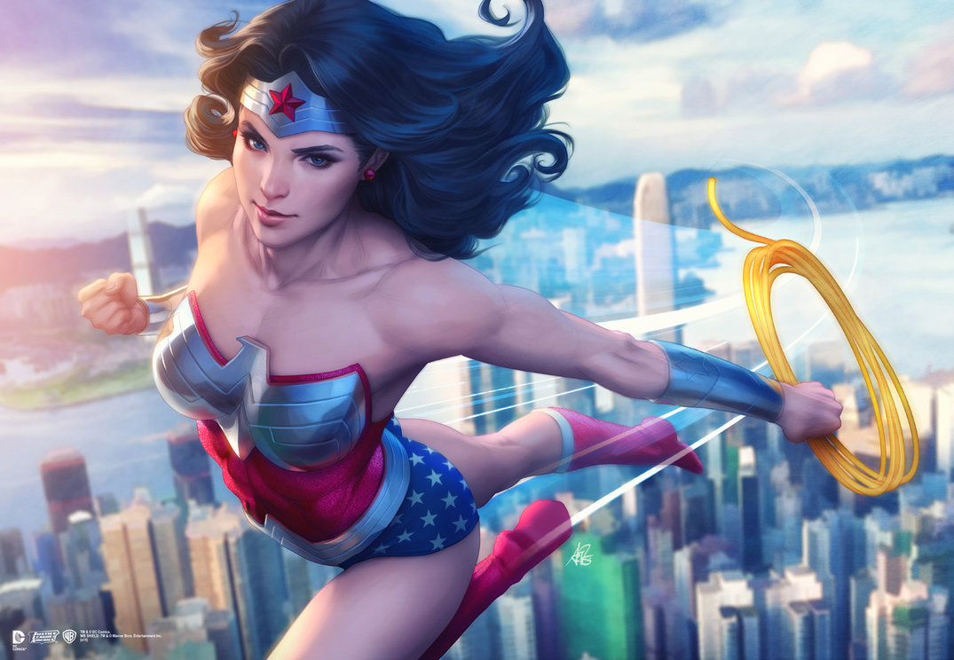 12  Best Artworks of Wonder Woman - Special features