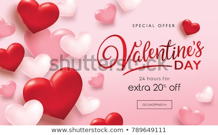 valentines day sale poster banner