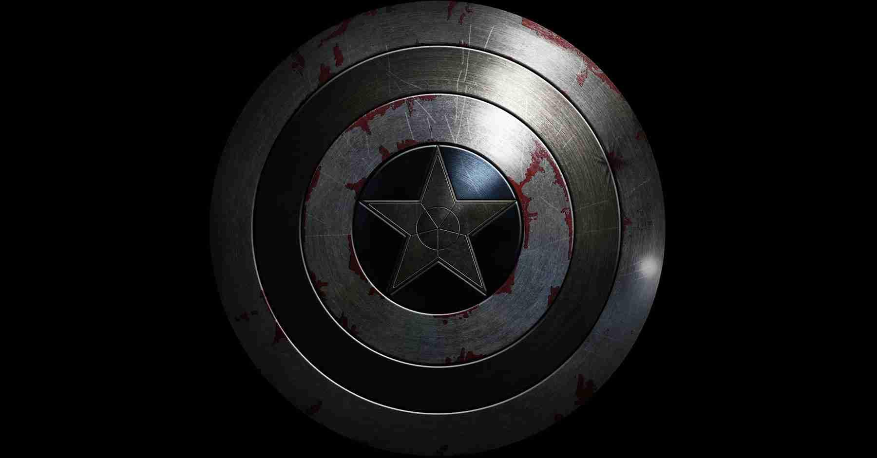 Captain America Shield Texture