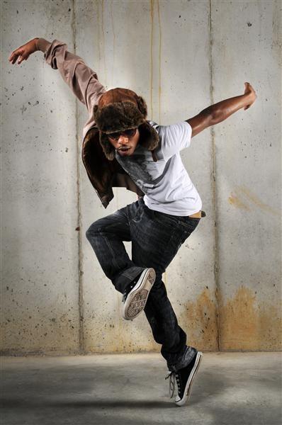 Hip Hop Man Dancing