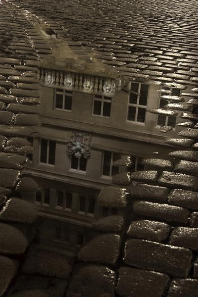 Cobblestone and Reflection