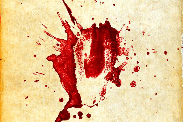 Splatter on a background