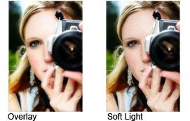 Overlay vs Soft Light